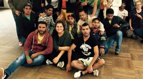 Rückblick > Begegnungen > Junge Flüchtlinge trafen sich mit Jugendlichen aus Witten