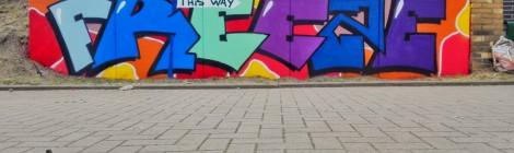 Graffiti-Aktion-Freeze